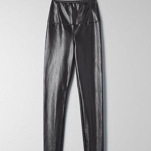 Wilfred Aritzia Daria leather legging pant